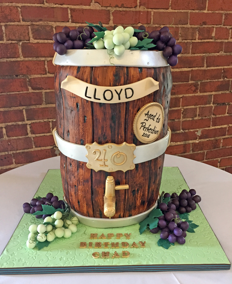 How To Make A Wine Barrel Cake Tutorial