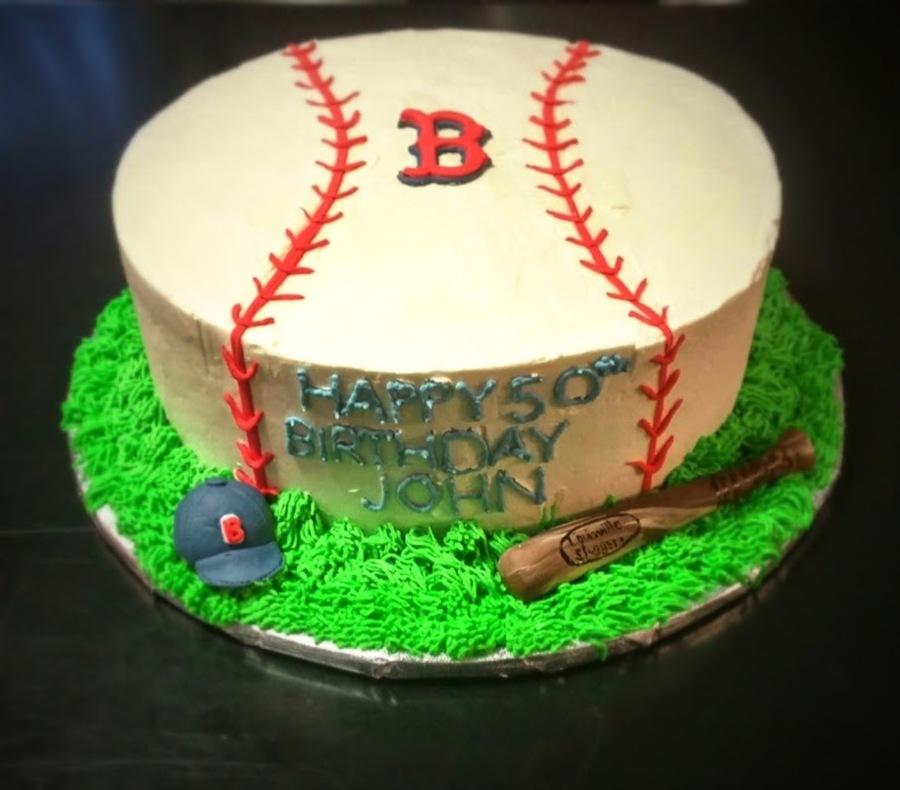 Boston Redsox Cake Cakecentral