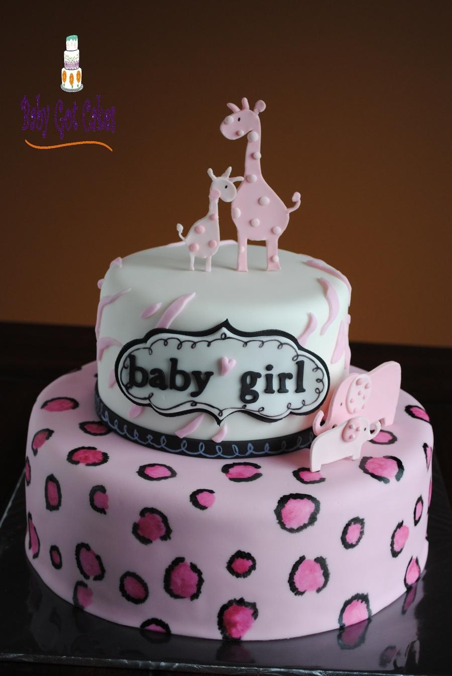 Girl Safari (Baby Shower) On Cake Central