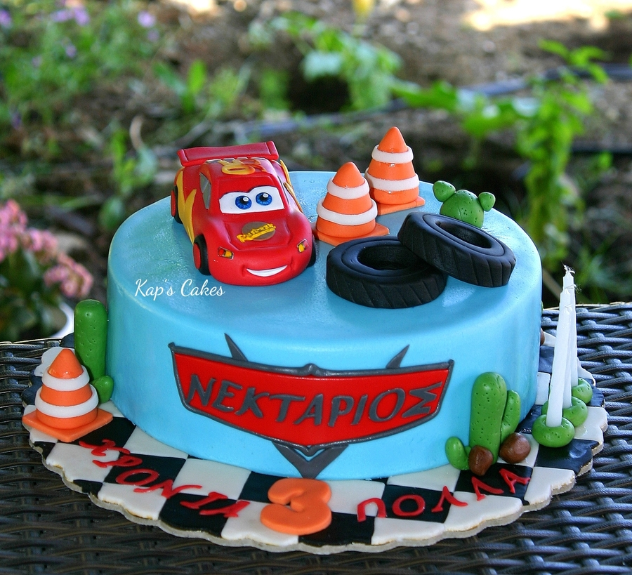 Image Result For Mcqueen Birthday Cake Images