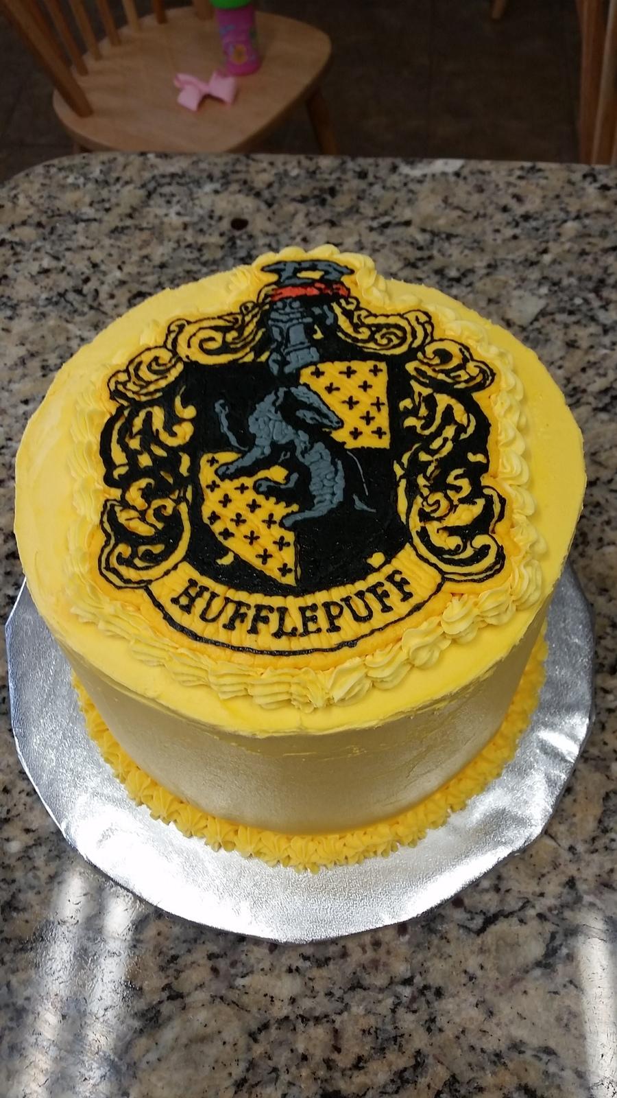 Hufflepuff Birthday Cake Cakecentral Com