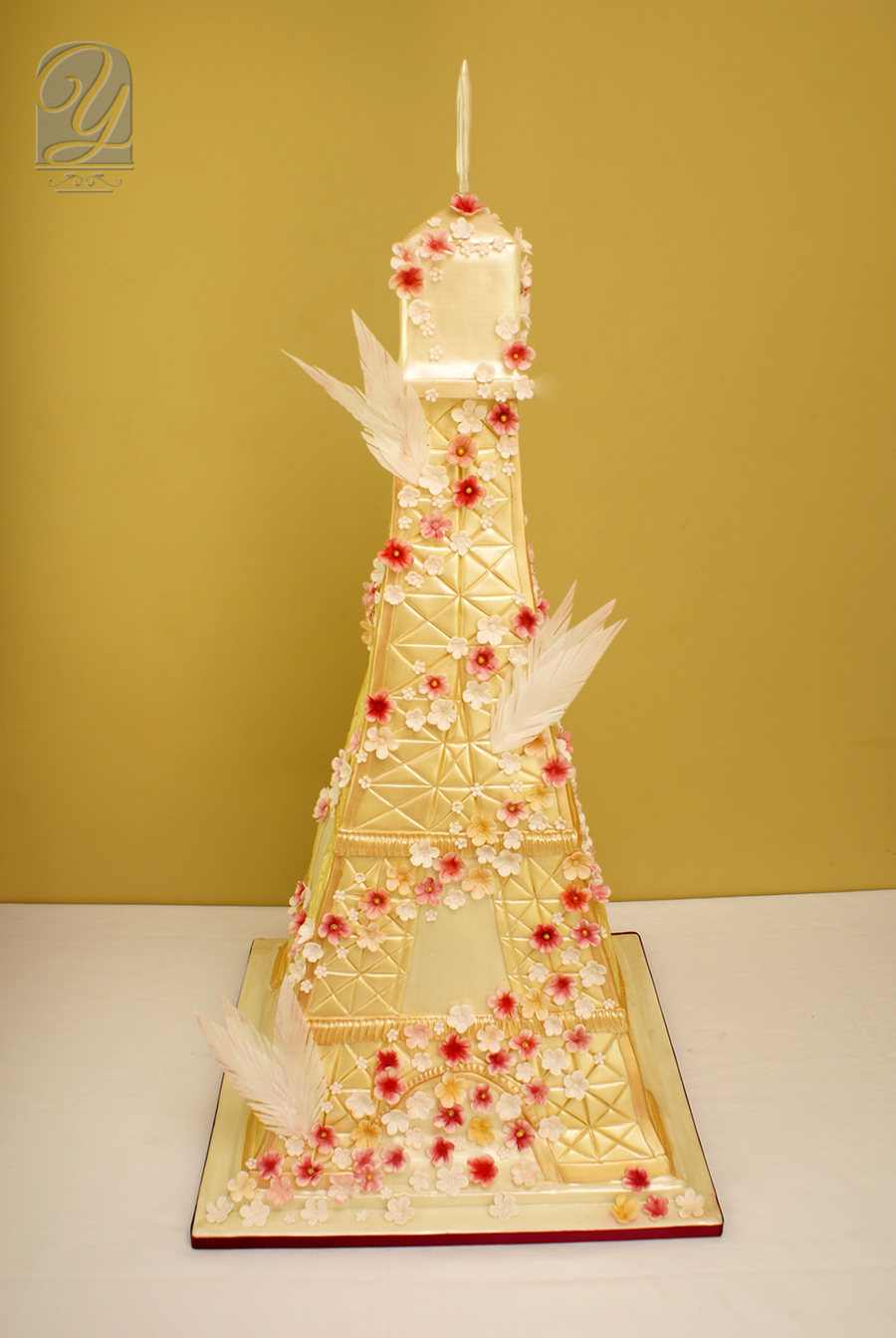 Tower Of Love Cake - CakeCentral.com