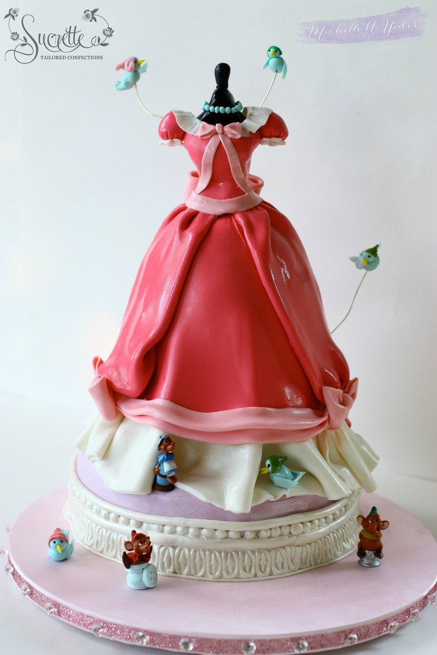 Cinderella Dress on Cake Central