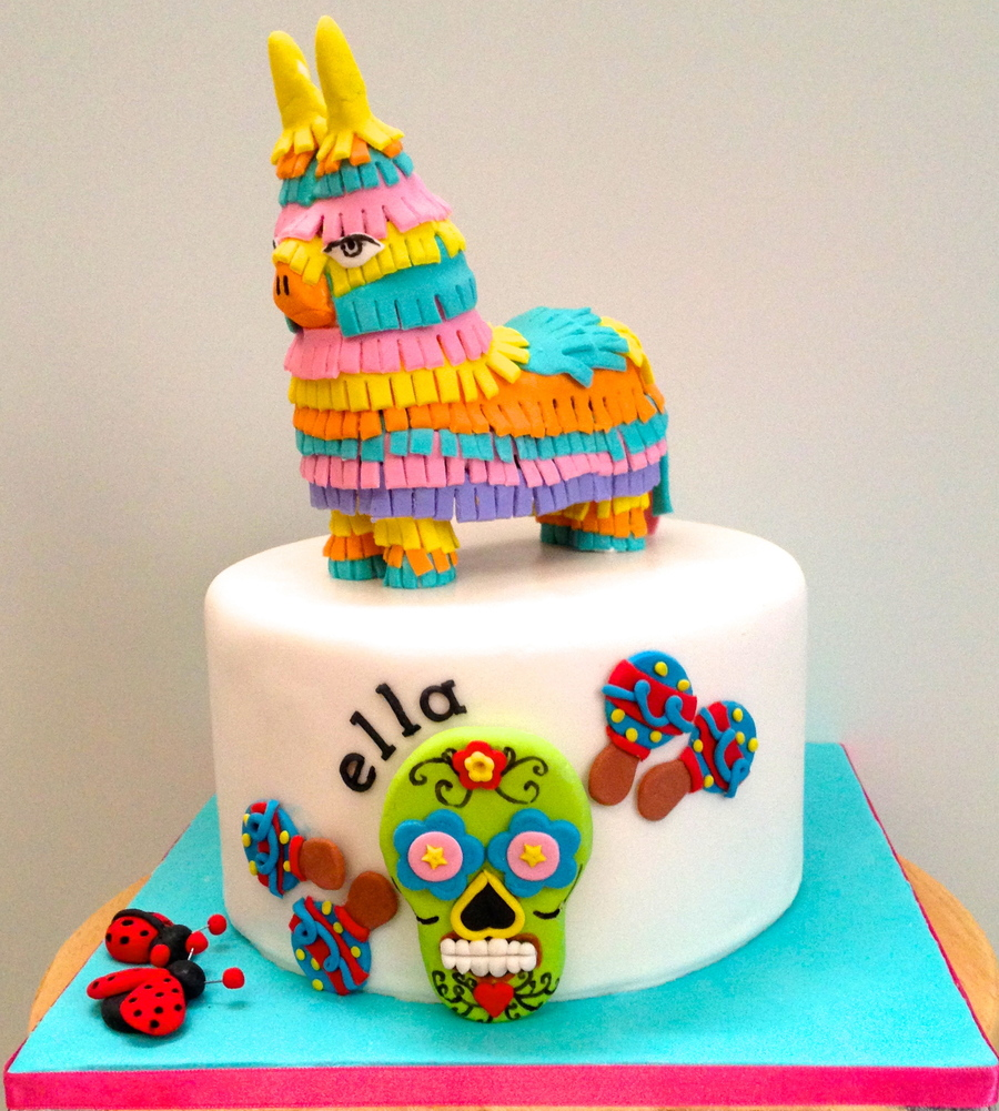 Fiesta Cake Decorating Ideas