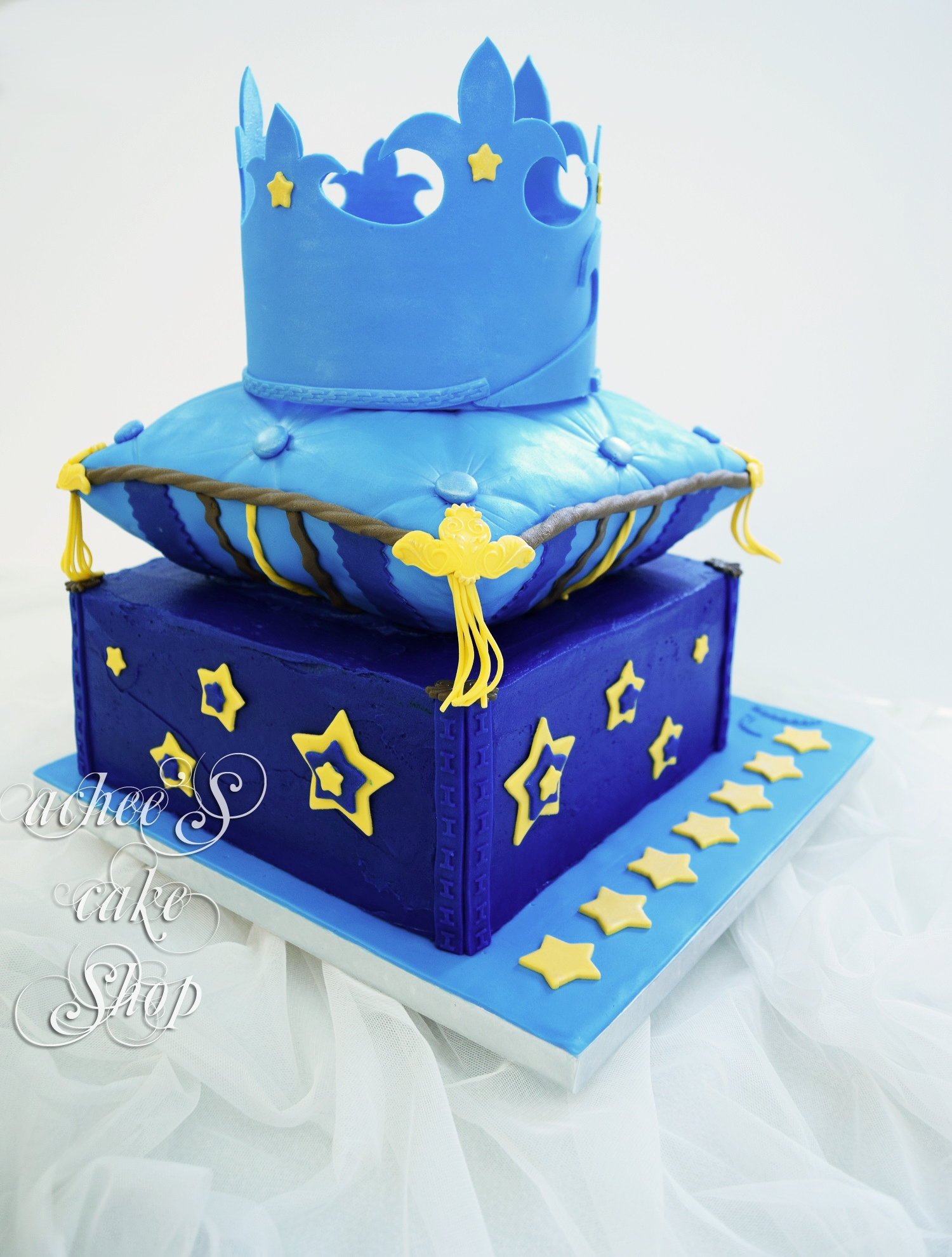 Prince Andrie Pillow Cake CakeCentralcom