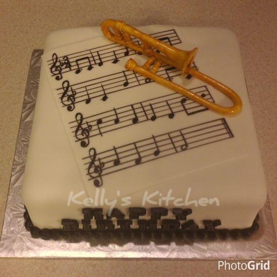 Trombone Cake Cakecentral Com