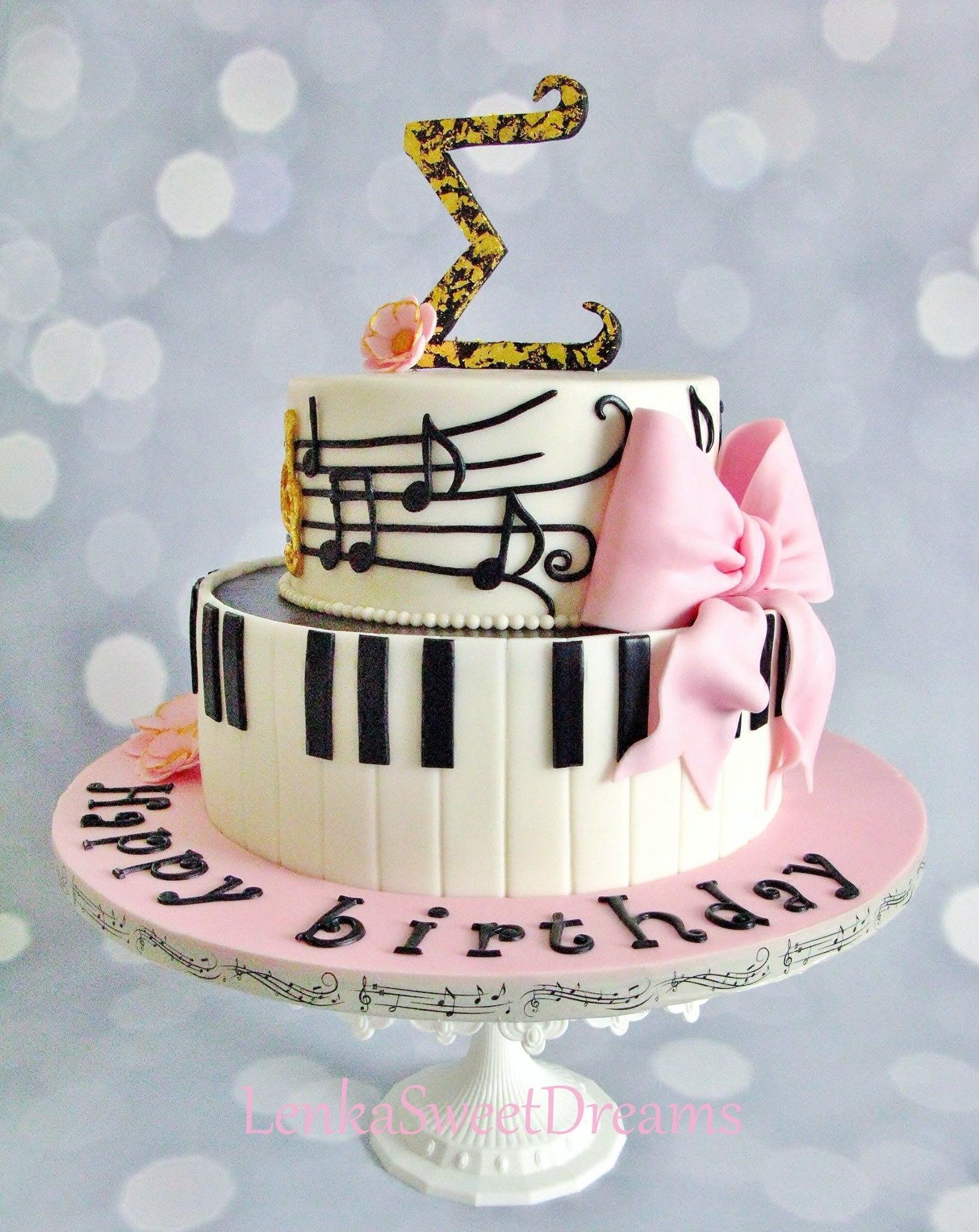 Piano Music Cake Cakecentral Com