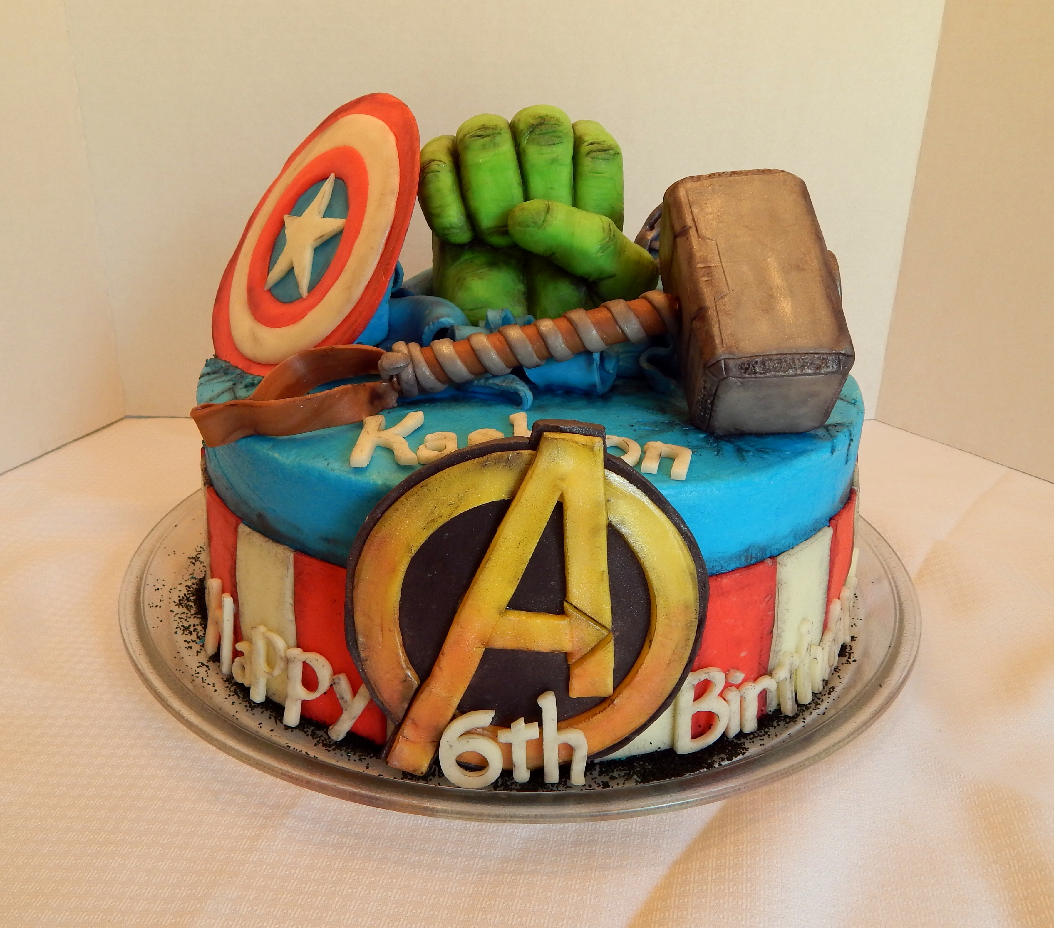Marvel Cake Recipe