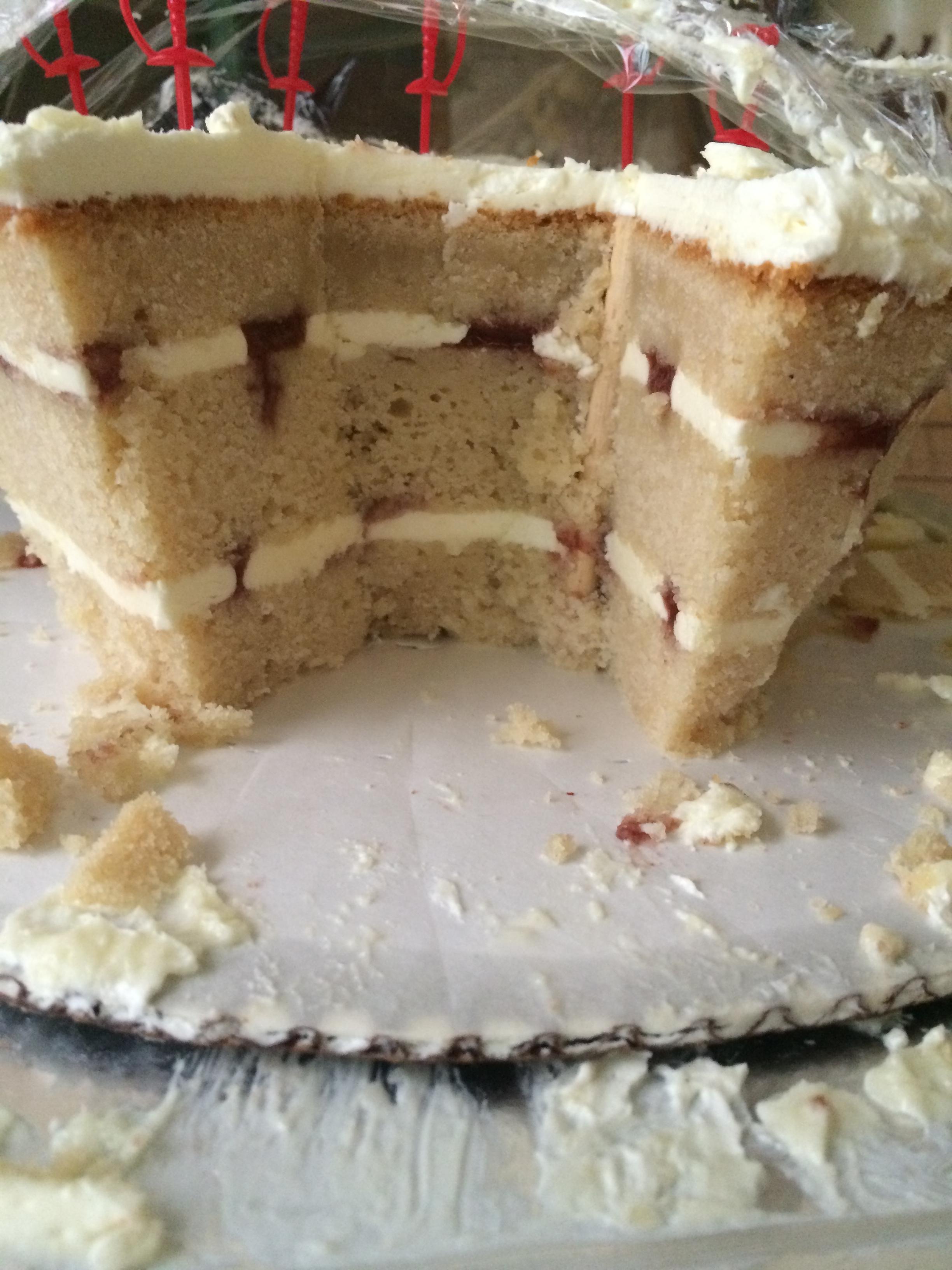 Swiss Buttercream Wedding Cake - CakeCentral.com