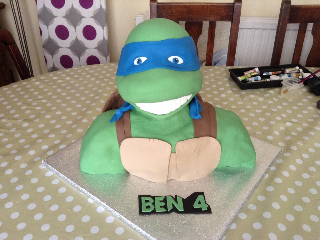 Teenage Mutant Ninja Turtles Leonardo Cakecentral Com