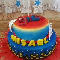 Spiderman SPIDERMAN CAKE