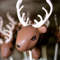 Deer Cake Pops   Deer cake pops I am attempting to make