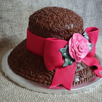 Hat Cake Kentucky Derby hat cake