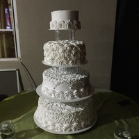 Wedding Cake 4 tire
