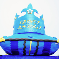 Prince Andrie Pillow Cake Made for 7th birthday of a boy named Andrie. This cake was a gift for the boy from their two lovely Godmothers.