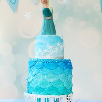 Frozen Birthday Party Of My Kids Like many moms out there, I have to admit that I have two little FROZEN fanatics at home. The theme for this year's Birthday party was...