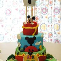 Mickey Mouse Clubhouse Mickey Mouse is gumpaste