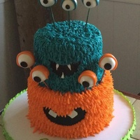 Monster Madness   Buttercream and RKT eyeballs