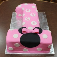 Minnie Mouse First Birthday Cake Minnie Mouse first birthday cake