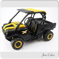 "Atv Topper ATV is 6.5"" x 5"" made out of gum paste"