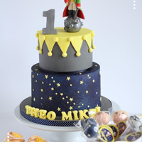 The Little Prince Cake These Little Prince Themed Cake, cakepops and colour-coordinated brazo de mercedes cupcakes are fit for a handsome little prince called...