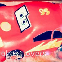 Mcqueen Car Cake   Mcqueen car cake for a young boy.