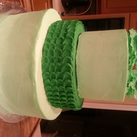 "Green Cake I made this cake for a ""green party"" we were having at work for having met all our metrics for the past 2 months. I..."