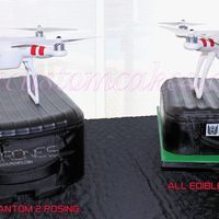 Drone Cake Which one is the cake right or left ?