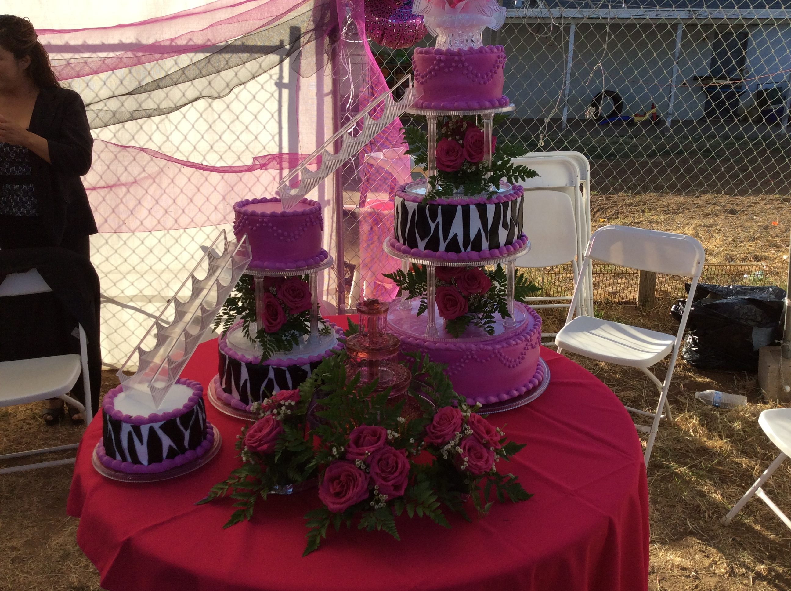 Quince Cake 6 tire