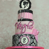 Barbie Little lady named Kaylie turned 8 and what a perfect theme for that age.