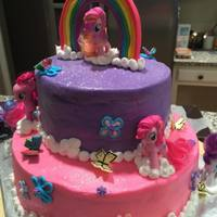 My Little Pony Two tiered my little pony