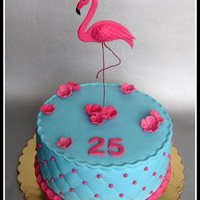 Flamingo Cake   birthday cake