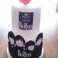 The Beatles Made this for my husbands birthday thank you for looking