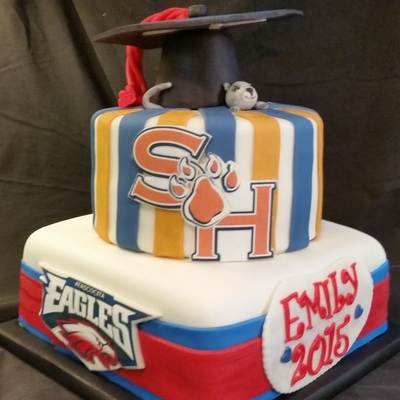 Atascocita High To Sam Houston State U. Emily Is Graduating