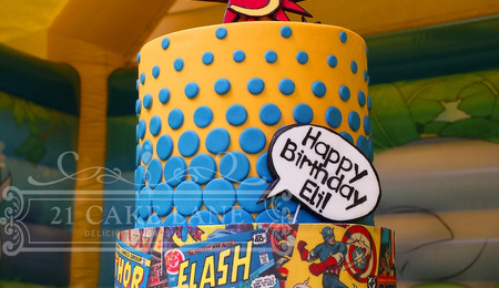 Comic Cake Decorating Photos