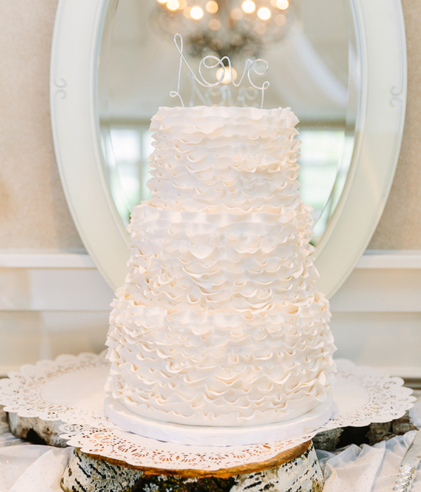 Whitney Ruffle Cake - Hidden Valley Country Club