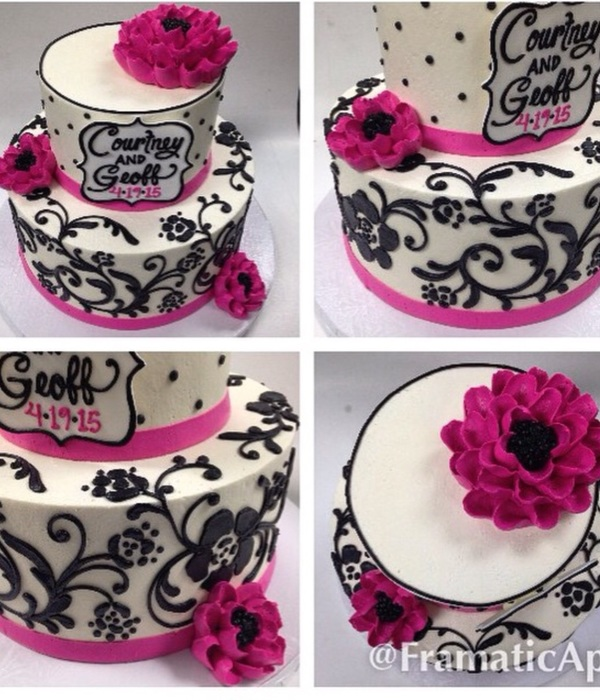 Buttercream Filigree Pattern