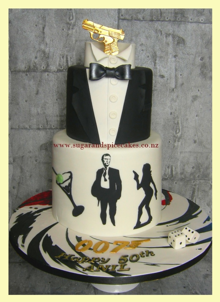 James Bond 007 Cake Cakecentral Com