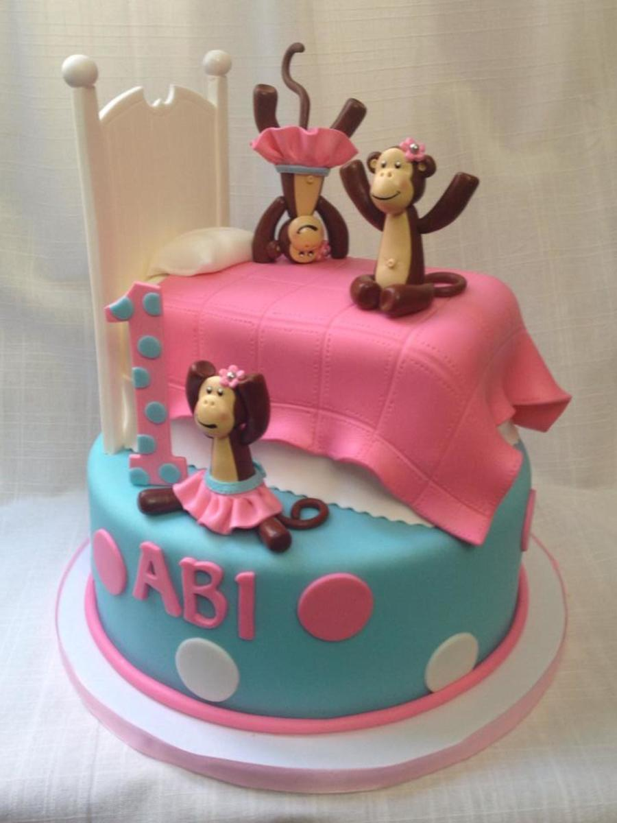 Monkeys Jumping On The Bed Cakecentral Com