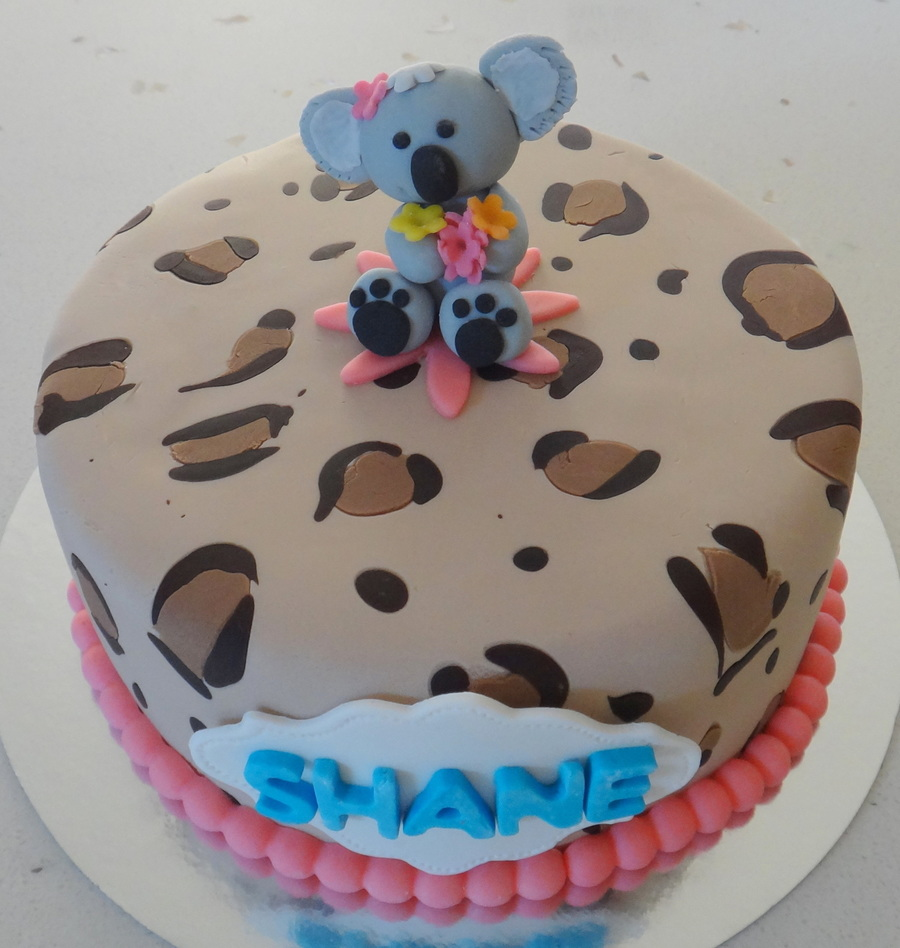 Koala Birthday Cake Recipe
