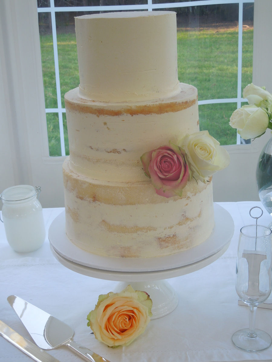 Semi Naked Cake on Cake Central