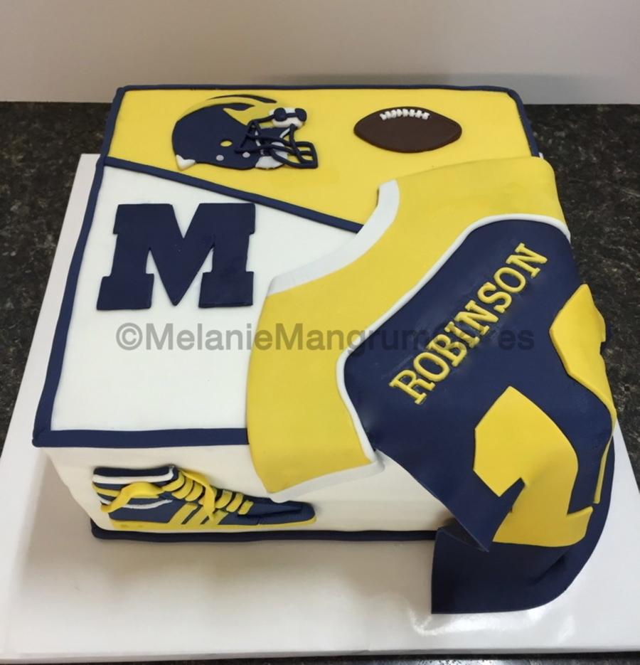 University Of Michigan Cake Cakecentral Com