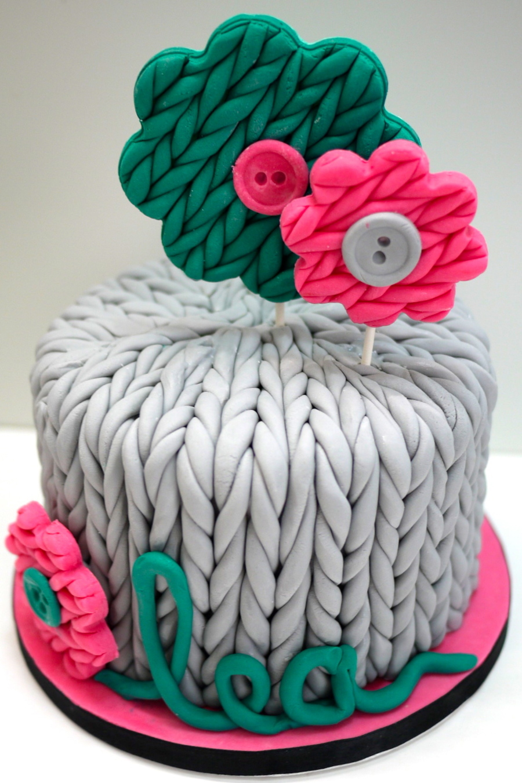 Knitting Cake Cakecentral Com