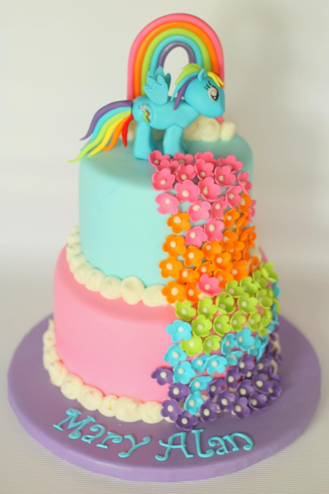 Rainbow Dash Cake Ideas