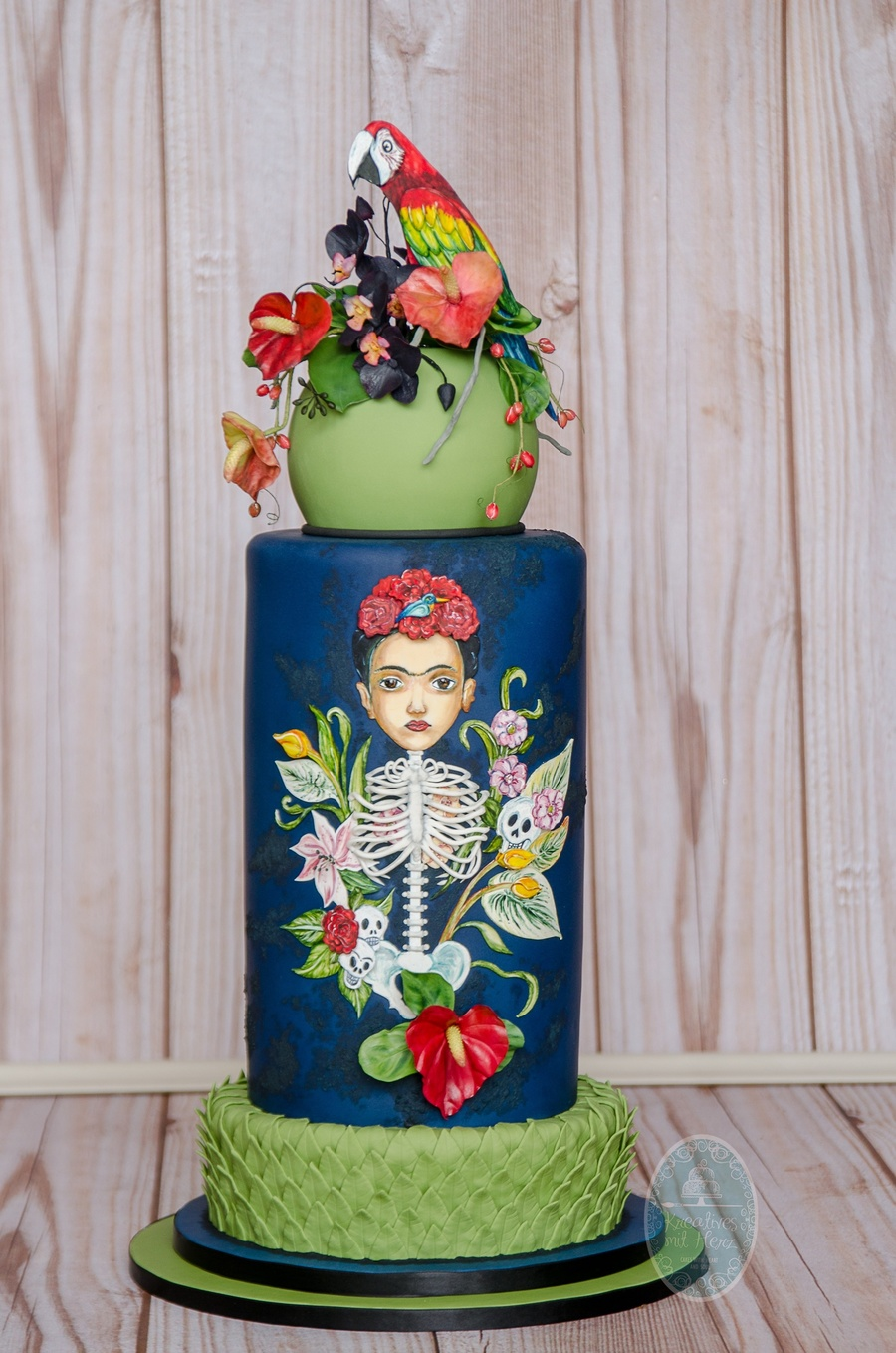 Frida Kahlo Cake Cakecentral Com
