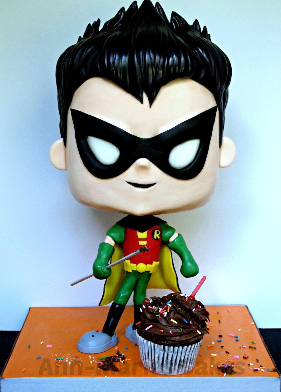 Robin Team Titans Go Cakecentral Com
