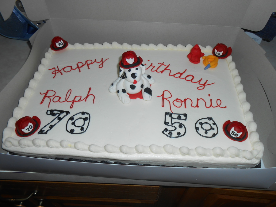 Images Of Cake For Son : Fire Chief Birthday Cake - CakeCentral.com