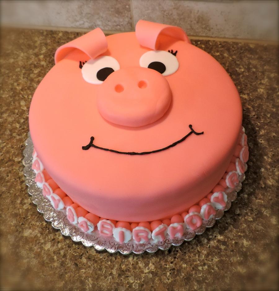 Pig Cake - CakeCentral.com