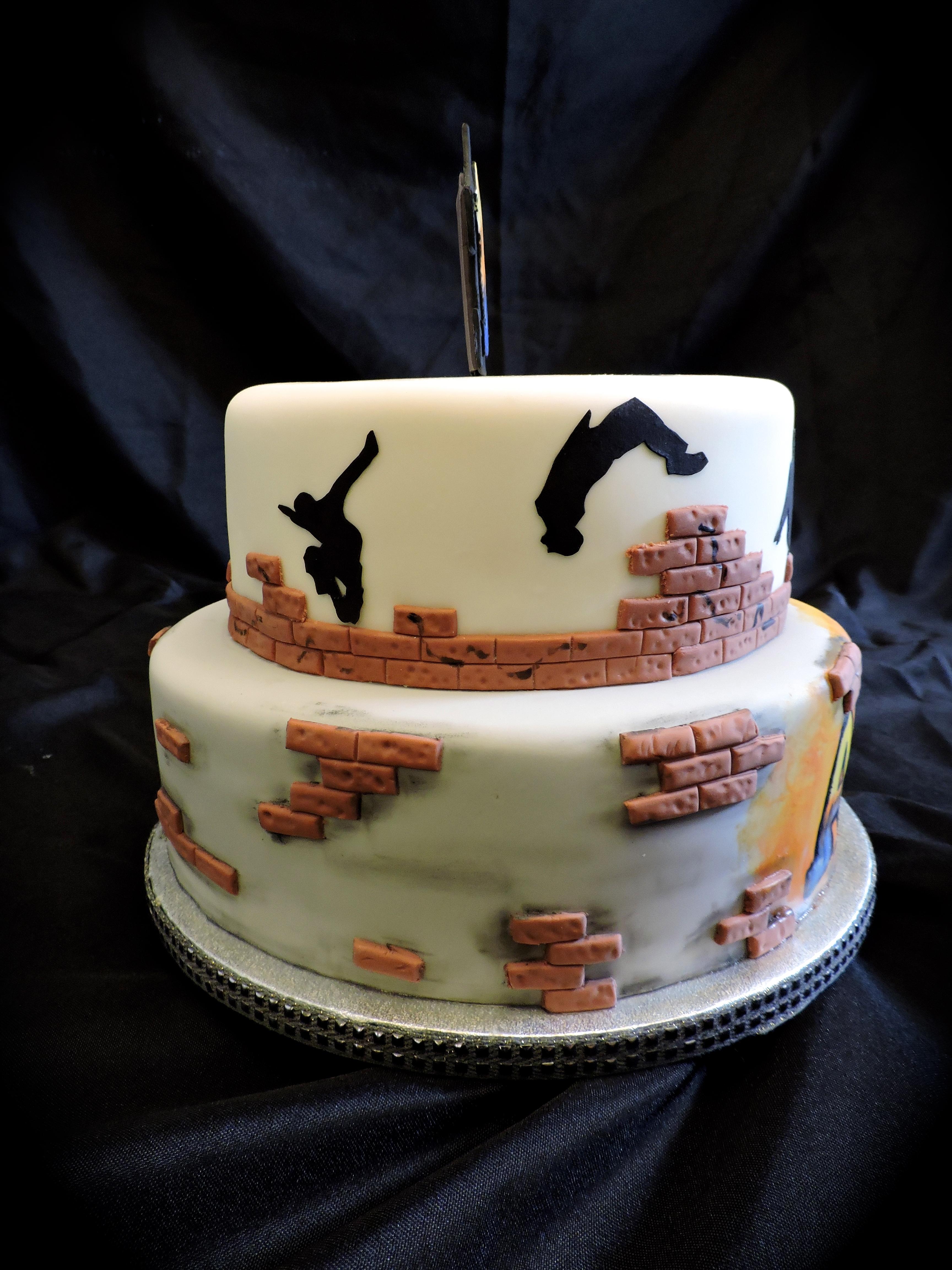 Birthday Graffiti Cakecentral Com