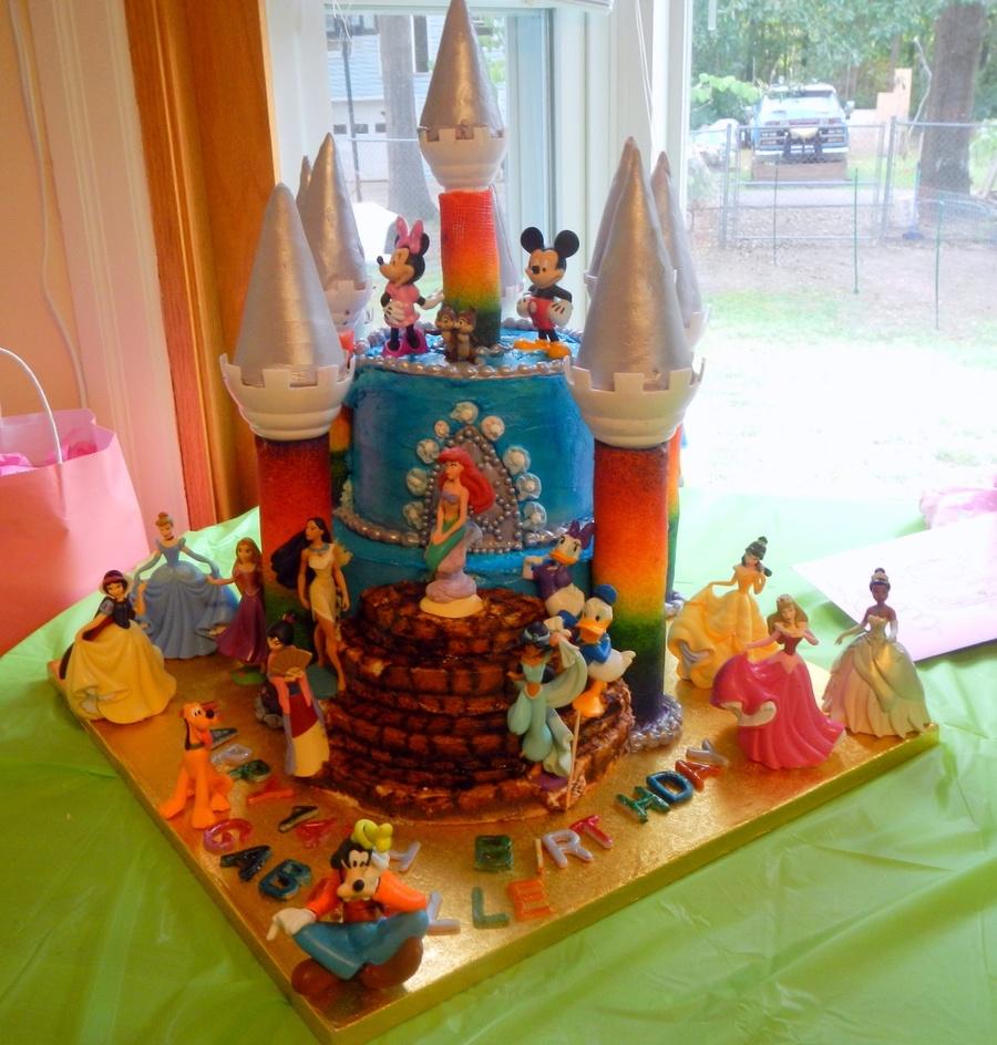 Disney Castle Cake Cakecentral